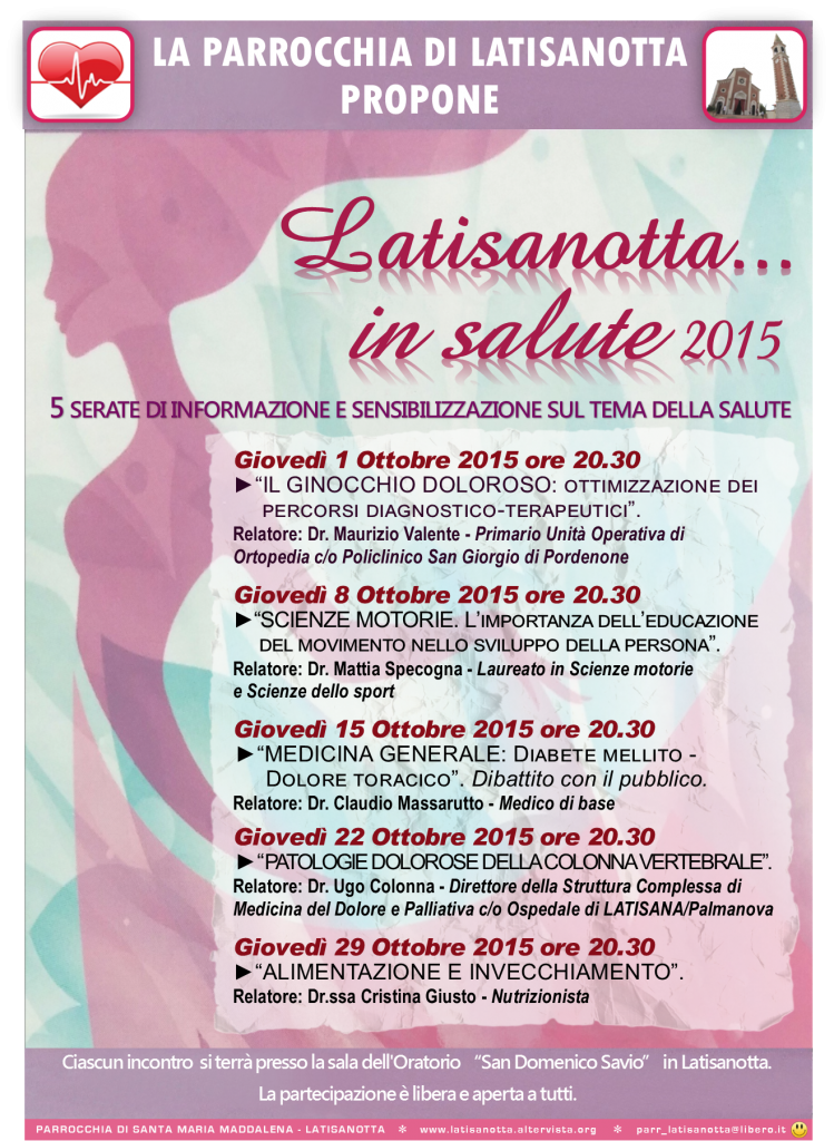 Latisanotta...in salute 2015